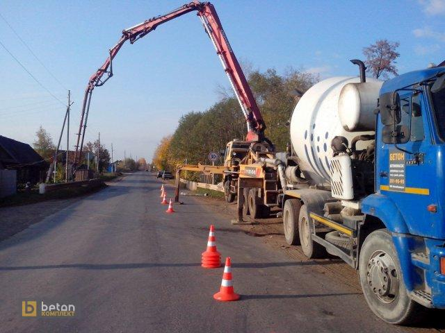 Реконструкция моста в п. Майский