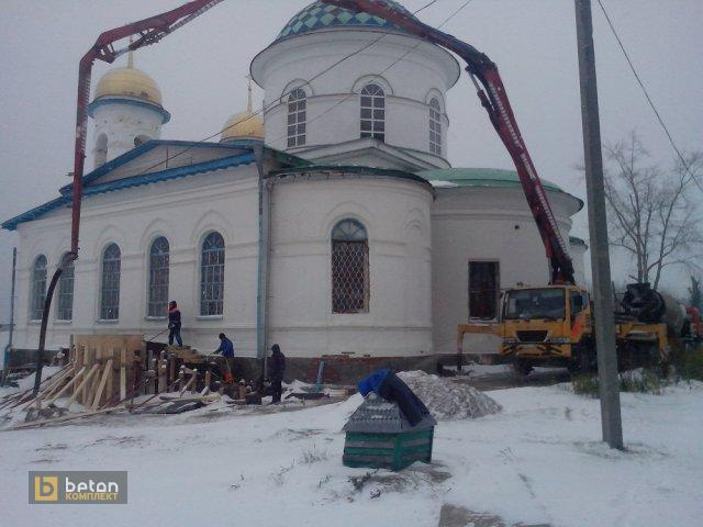 Ремонт фундамента церкви