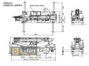Автокран KOMATSU LW-250-5