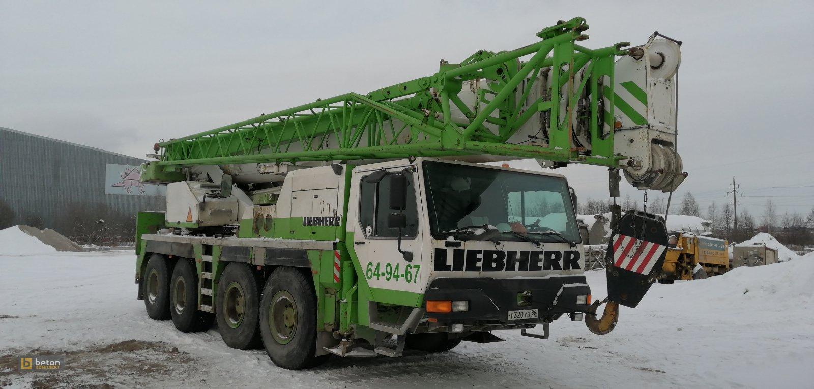 Автокран 80 т Liebherr LTM 1080