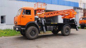 АГП 28м вездеход КамАЗ-43253