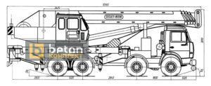 Автокран 50 т КС-6575С