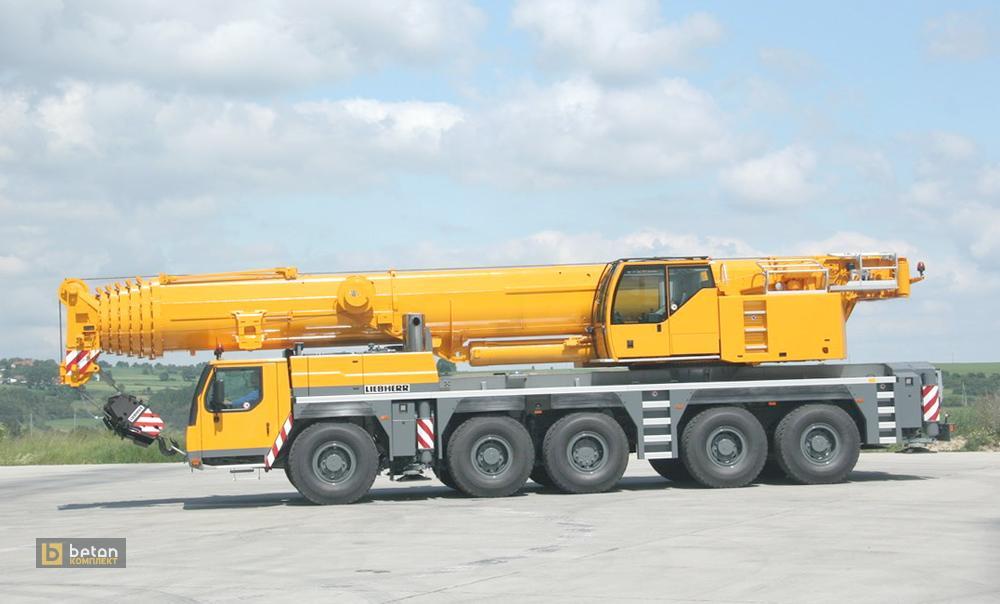 Автокран 200 т LIEBHERR LTM 1200