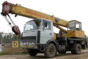 Автокран 14 т КС-3577