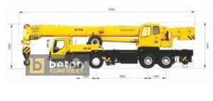 Автокран 70 т XCMG QY70K-I