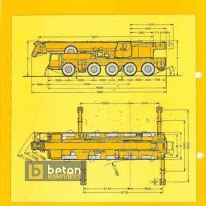 Автокран 120 т LIEBHERR LTM 1120